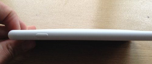 The iPhone with case is only slightly thicker.