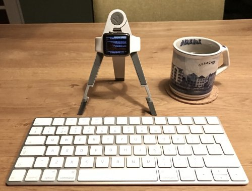 And so I did! Programming on Apple Watch using VIM, SSH, a Bluetooth keyboard and coffee.