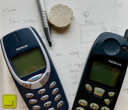 Snake '97 - the original idea and stars of the game, the Nokia 5110 and 3310 - possible because of earlier experimentation with technology