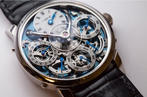 Incredible details in the MB&F Legacy Machine (photo: Monochrome Watches)