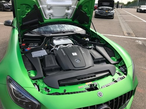 4.0L V8 Twin turbo AMG engine