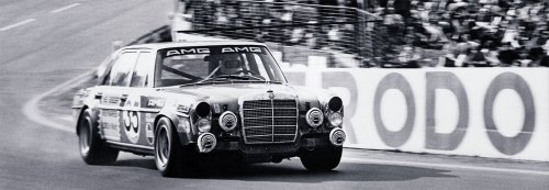 1971 Mercedes 300 SEL 6.8 AMG at the 24 Hours of Spa