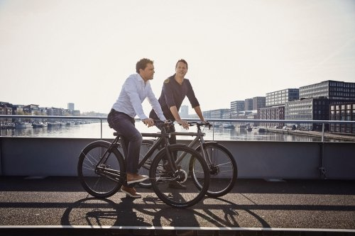 VanMoof's founders, brothers Taco and Ties Carlier