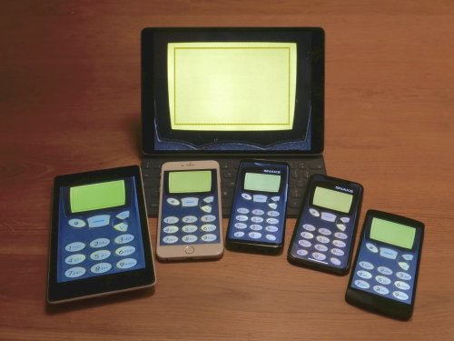 Prototype of Snake '97 running on various devices