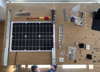 Learning from powering my personal devices using nothing but self generated electricity using a solar panel and power banks.