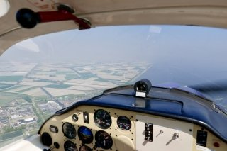 This week I went out for lunch by plane from Hilversum to Texel with a good buddy of mine.