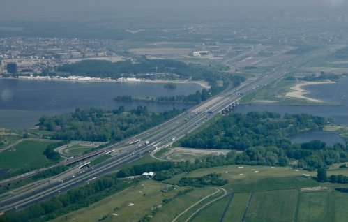 The Hollandse Brug (A6 near Almere)