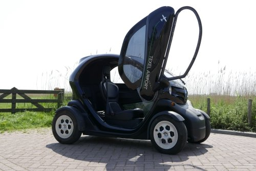 Renault Twizzy from Texel Airport