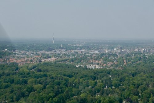 Hilversum - with the radio/TV tower clearly visible