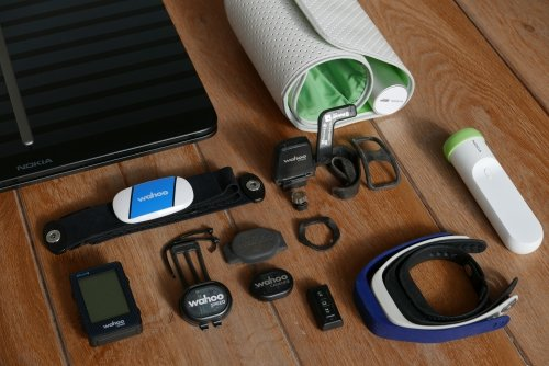 My collection of health and fitness sensors