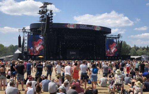 Rock Werchter, main stage