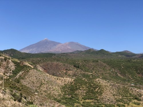 Teide seen from my iPhone
