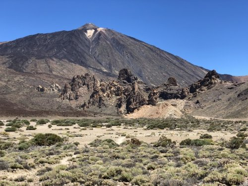 Pico del Teide as seen from the south of the caldera