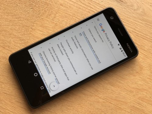 Google Privacy Policy - telling you what personal information is collected