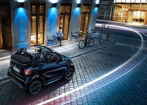 Smart fortwo cabrio featuring the special