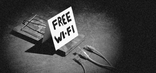 Do you trust the free wifi you're using? (Image via buffered.com)