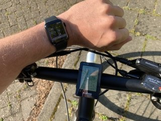 Collect advanced bike ride data using your smartphone connected to external Bluetooth sensors and a steer mounted display.