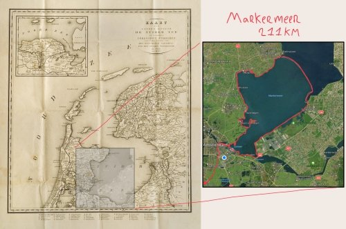 Around the Markermeer, through the former Dutch
