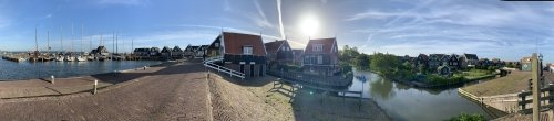 Harbour in Marken