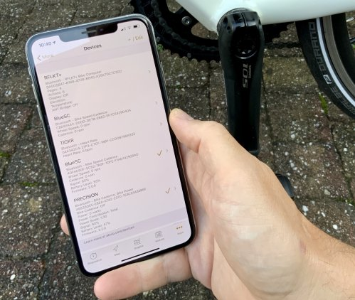 Connecting the 4iiii Precision Powermeter to the Cyclemeter app