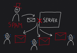 Deal with backscatter spam by implementing a stringent SMTP delivery policy at MTA level.