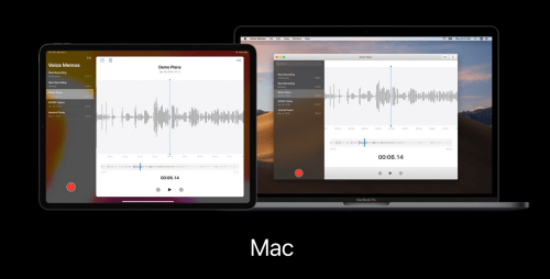 The same app on iOS/iPadOS and macOS