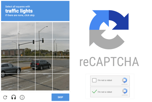 ReCaptcha: you've been training Google's AI for years!