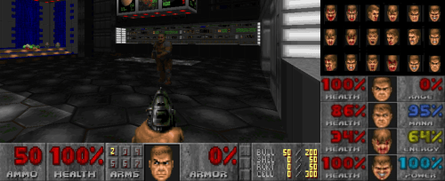Doom and the protagonist