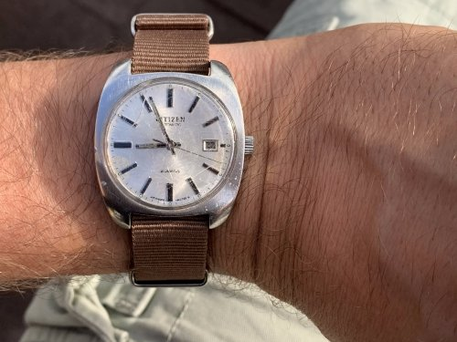 Wearing your watch on a different strap can make it feel like an entirely different watch