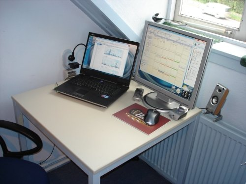 My computer in 2005: Windows XP, Nokia Communicator and MSN Messenger