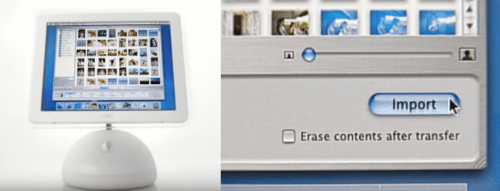 Introducing iLife in 2002 - shown on an iMac G4 - designed to be fun, easy and powerful