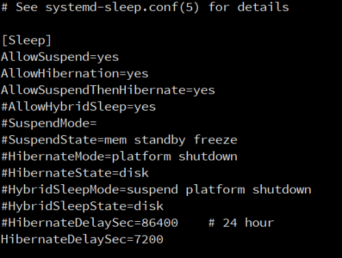 "The systemd setting ""AllowSuspendThenHibernate"" in sleep.conf enables you to define a timeout between suspending to RAM and suspending to disk (hibernation)"