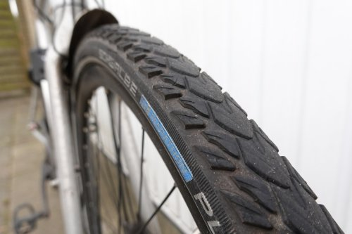 The Schwalbe Marathon Plus Tour tires are very reliable